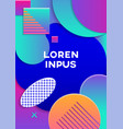 modern abstract poster vector image vector image