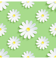 spring green background seamless pattern vector image vector image