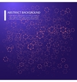 Abstract background with dotted grid and poligonal vector image