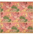 floral art-nouveau background vector image