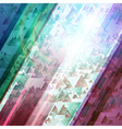Abstract technology futuristic shiny lines backgro vector image vector image