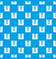 box pattern seamless blue vector image vector image