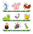 cartoon Insects set vector image vector image
