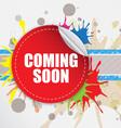 Coming soon label design