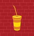 juicy fruit juice vector image vector image
