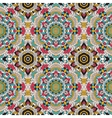 seamless pattern national decorative vector image vector image