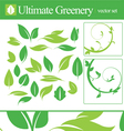 Ultimate greenery set vector | Price: 1 Credit (USD $1)