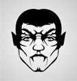 Vampire Face vector image vector image