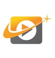 video document tutorial location vector image