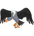 vulture bird cartoon vector image