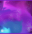 abstract blue and purple paint brush vibrant vector image