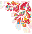 Abstract colorful background with drops vector image vector image
