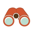 binoculars device isolated icon vector image vector image