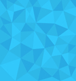 Blue background abstract polygon triangle style vector image vector image