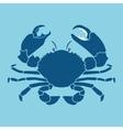Crab silhouette sign symbol