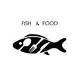 Fishspoonfork and knife icon vector image