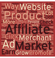 How to Constantly Grow Your Affiliate Check text