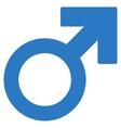 Mars Symbol Flat Icon vector image vector image