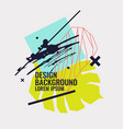 modern abstract and geometric background vector image