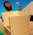 shed building vector image vector image