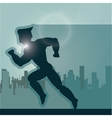 Superhero icon Cartoon design graphic vector image