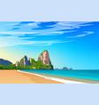 thailand phuket landscape vector image