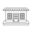 store shop symbol vector image