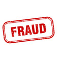 fraud vector image vector image