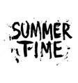 hand drawn summer time t-shirt vector image vector image