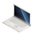 isometric laptop vector image