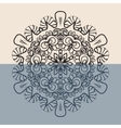 Outline Mandala Background for greeting card