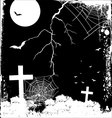 scary night vector image