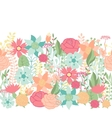 Seamless floral pattern with pretty stylized