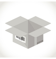 Box packaging vector image