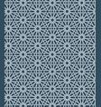 seamless islamic moroccan pattern arabic vector image