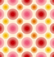 Abstract flowers background pattern vector image vector image