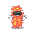 bacteroides with modern virtual reality headset vector image vector image