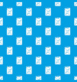 canister pattern seamless blue vector image vector image