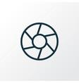 focus icon line symbol premium quality isolated vector image vector image