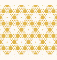 geometric seamless pattern ornament with small vector image vector image