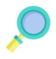 magnifying glass tool for research or zooming vector image