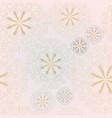 mandala pink and blue flower seamless pattern vector image