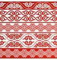 oriental ornament vector image vector image