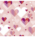 pale rosy color love heart concept for backdrop vector image vector image