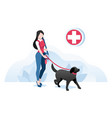 pet collection concept style symbol vector image