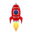 Red Rocket vector image vector image