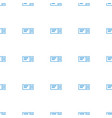 ticket icon pattern seamless white background vector image vector image