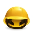 Hard hat icon vector image