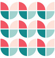 60s and 70s simple retro seamless pattern vector image vector image