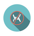 barbed wire icon vector image vector image